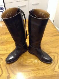 Loveson slim leg riding boots equestrian size 4.5 horse riding show jumping