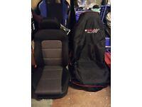 Seat Leon Fr Cupra front & back seats mint condition / recaro seats/ R/ vw/ Audi/ skoda/ interior