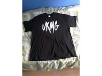 UKMG band merch t-shirt size mens XL