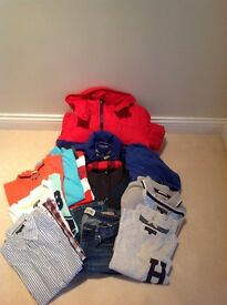 Bundle of boys Hilfiger clothes