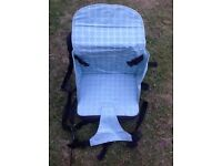 Portable Baby Seat - folds down into pack with handle