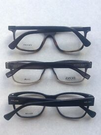 hugo boss , police and prada spec frames