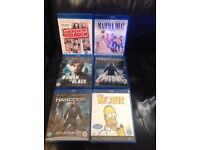 Various Blu Rays for sale