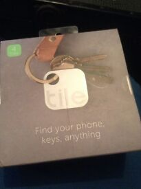 Tile Mate *keyring/app to find lost stuff! Pack of 4 x 2 £45 each pack
