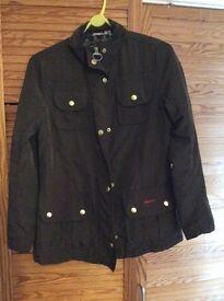 Ladies small size 8 genuine Barbour coat