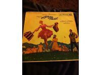 """The Sound Of Music (6574) 12"""" LP 1965 RCA Victor RB-6616 Film Movie Soundtrack"""