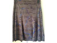 Karen Millen silk skirt