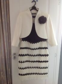 Mother of the bride/groom dress and jacket by Nati Jiménez Size 12/14 Worn just once.
