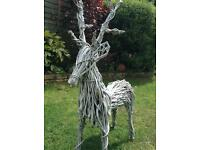 3 X Twig Reindeers for sale