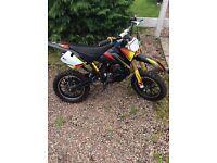 Pit bike 50cc like new