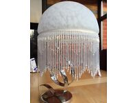 Victorian Style Glass Beaded Lampshade