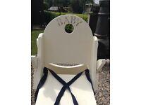 Vintage look high chair