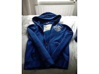 Abercrombie & Fitch - authentic New York blue hoodie - size small
