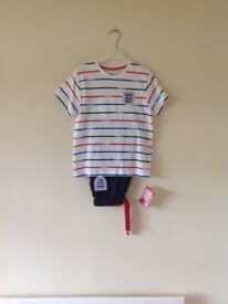 Brand new M&S England pyjamas 5-6yrs