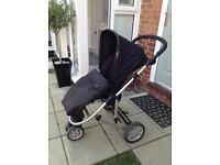 Mamas & Papas Zoom Travel System (Pushchair/Pram/Car Seat) with Isofix Base