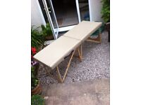 Basic massage table, no face cut out. Little used, good condition.