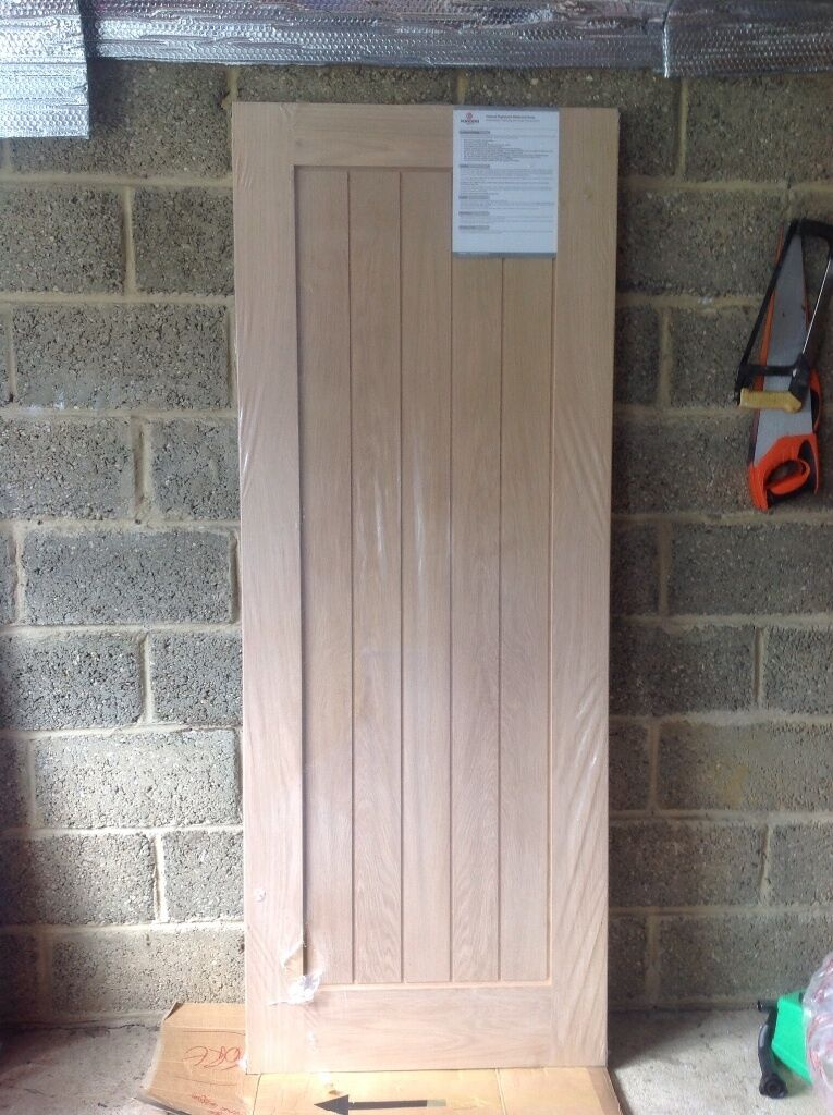 Howdens Genoa Oak internal hardwood Fire Door. | in New ...