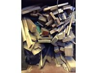 Free wood offcuts from pallets