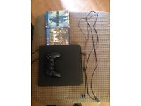 PS4 slim 500gb with assassins creed syndicate