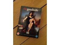 The Good Wife season 3 DVDs boxset
