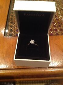 White gold engagement ring....