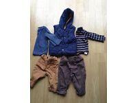 Boys clothing bundle (3-6 months)