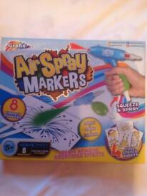 🌟 BRAND NEW 🌟 air spray markers set