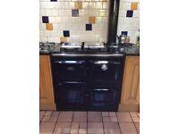 Rayburn Royal, Inkjet Blue Aga cooker