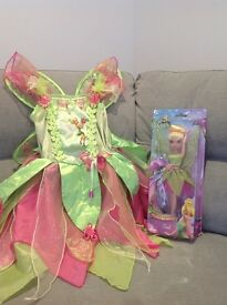 Tinkerbell Bundle - Doll, Fairy Dress Up / Fancy Dress Costume, Colouring Book Toys