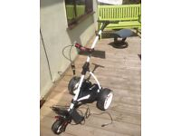 Motocaddy s1 golf trolley with lithium battery