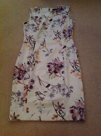 M&S Autograph floral dress. Size 12 excellent condition