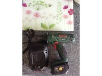 Bosch 18V rechargeable drill