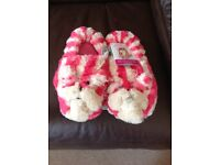 Bagpuss fully microwaveable slippers