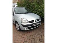 Clio 1.2 for spares only. Every think on its is good