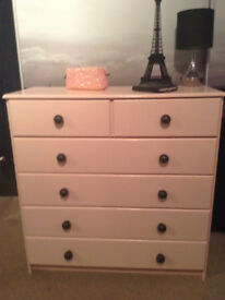Chest of Drawers - Pink Champagne