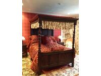 Four poster bed good condition