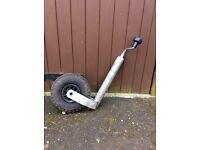 Pneumatic Jockey Wheel suitable for caravan, trailer etc
