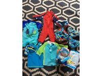 Baby and toddler swimwear and swim nappies