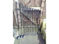 Vantage Golf Clubs excellent beginners set up, woods, irons, putter, carry strap and bag