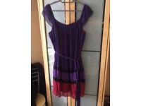 Size 14/16 (l) pleated dress.