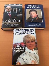 Selection of biographies and autobiographies