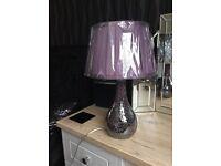 Plum lamp