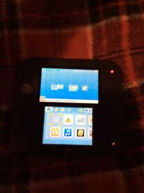 Nintendo 2ds black and blue £50