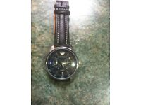 Men's Armani dress watch