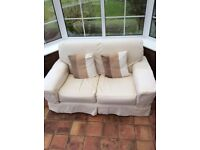 Second Hand Two Seater Marks and Spencer Settee