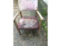 Vintage kids chair