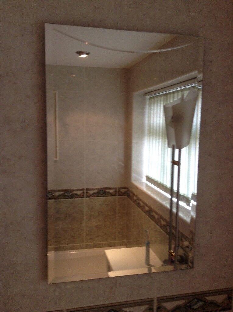 Bathroom Mirror Gumtree bathroom mirror with electric light. | in buxton, derbyshire | gumtree