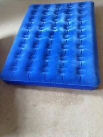 Self Inflating Double Air Mattress hardly used.