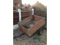 Trailer needs TLC but frame and axle ok