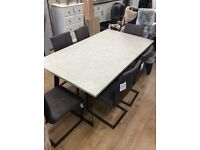 Dinning table 6x chairs